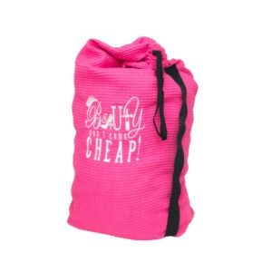 Pink Travel Laundry Bag