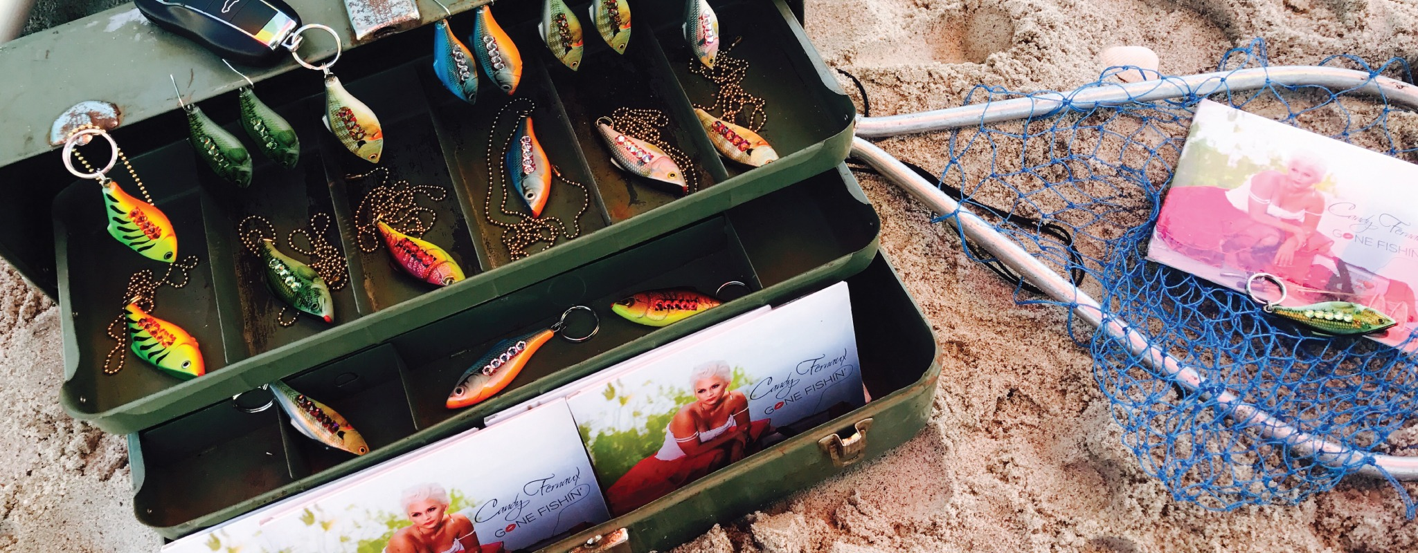2017 Gone Fishin' Tackle Box