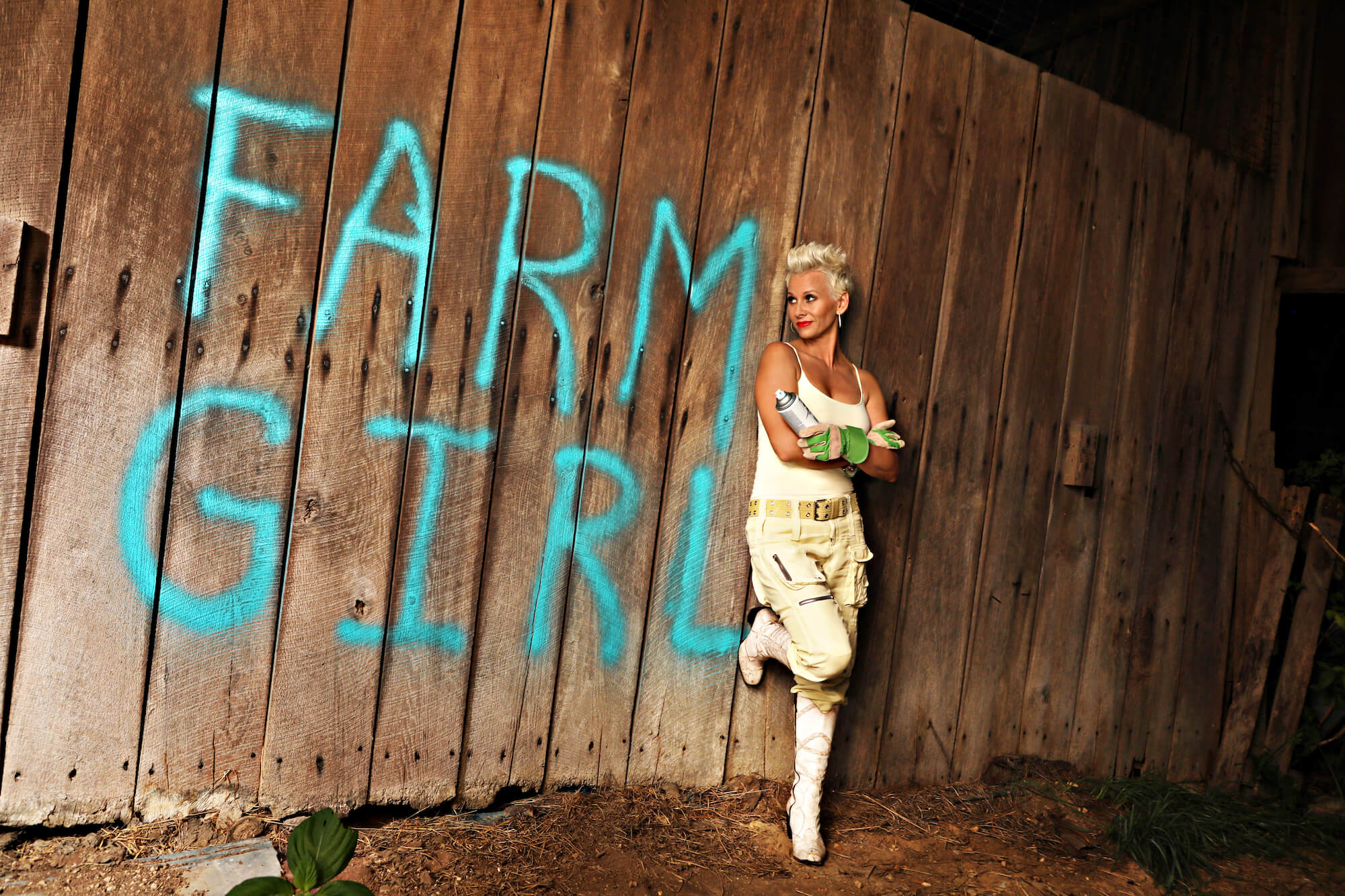 Farm Girl- Give THIS chick a hallelujah!