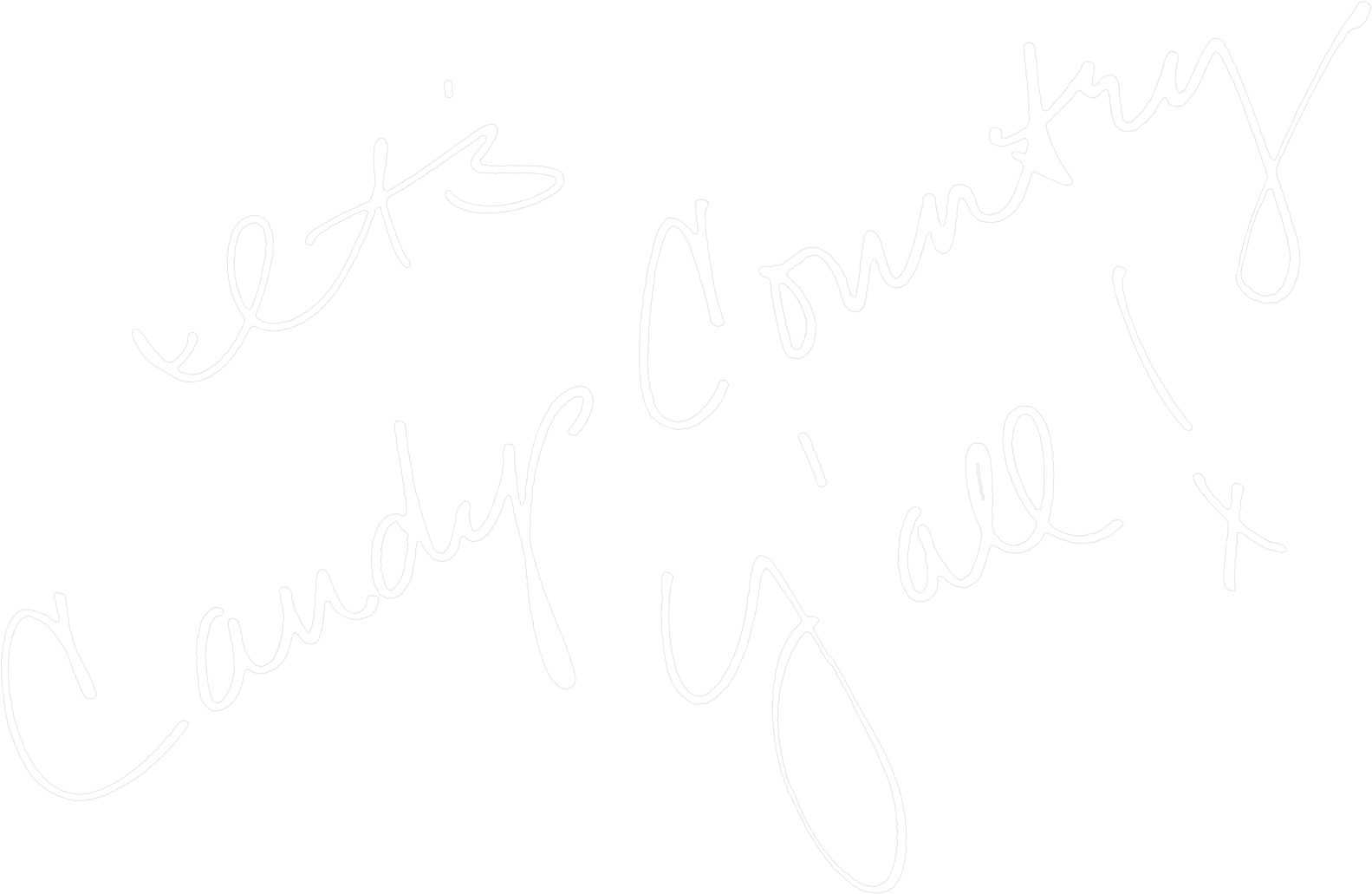 its candy country handwritten